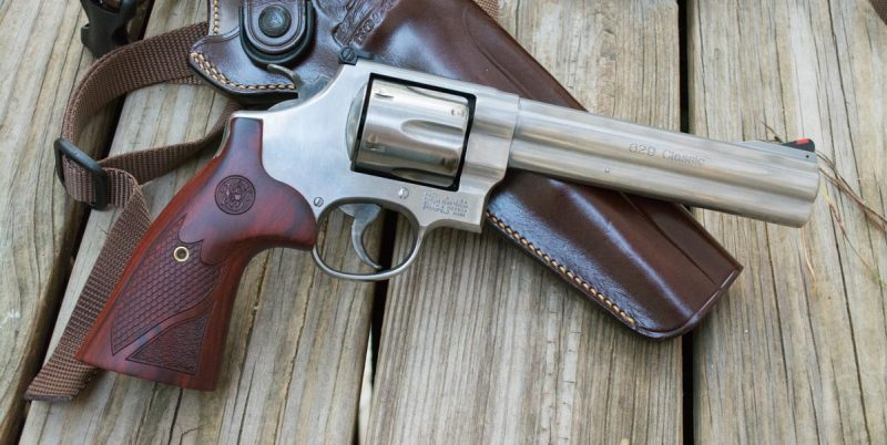 This Model 620 is big, weighing in over three pounds empty, but you'll appreciate the weight when you shoot it.