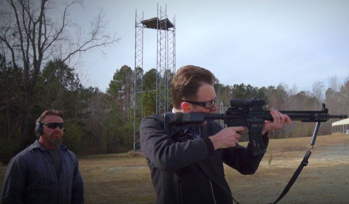 Image result for jordan klepper solves guns