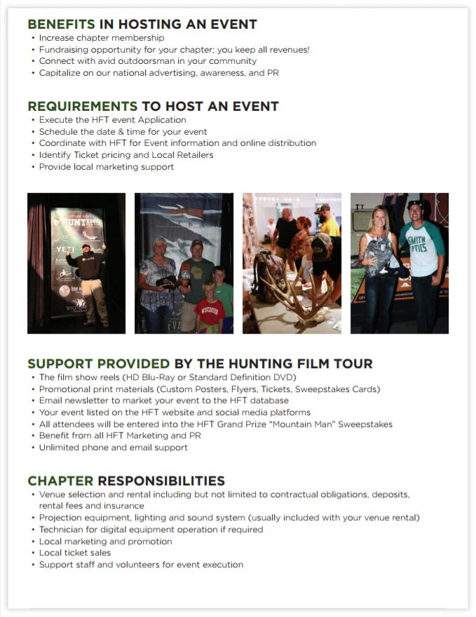 Hunting Film Tour