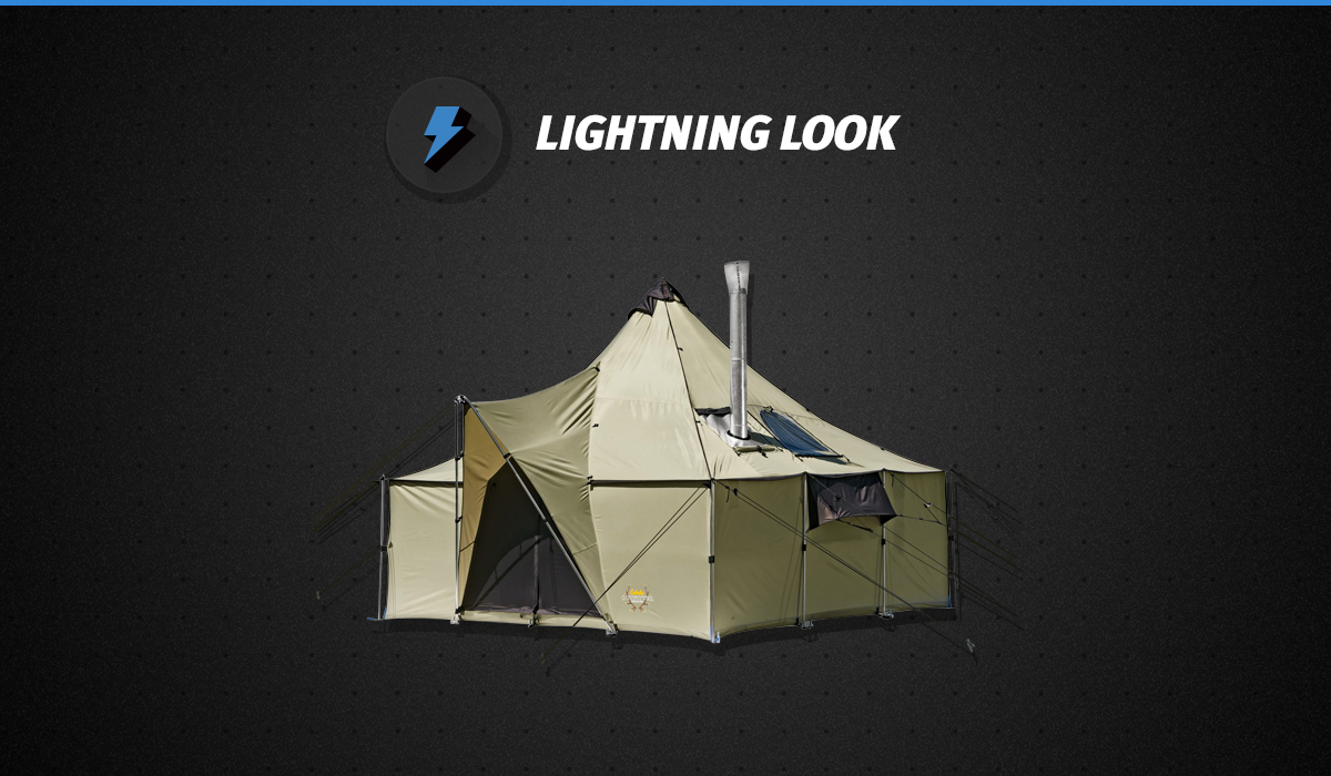 Lightning Look Cabela S Ultimate Alaknak 12 Ft X 12 Ft
