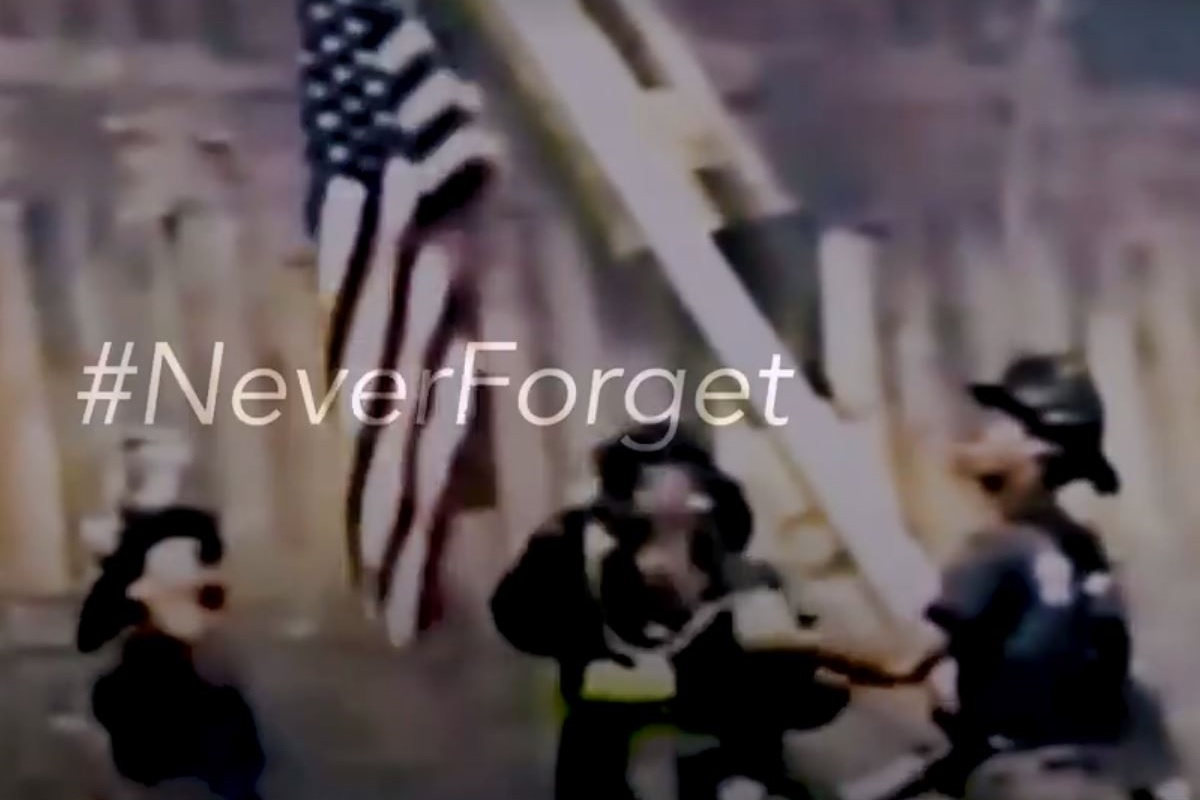 Trump commemorates September 11 attacks with vow to conquer 'evil'