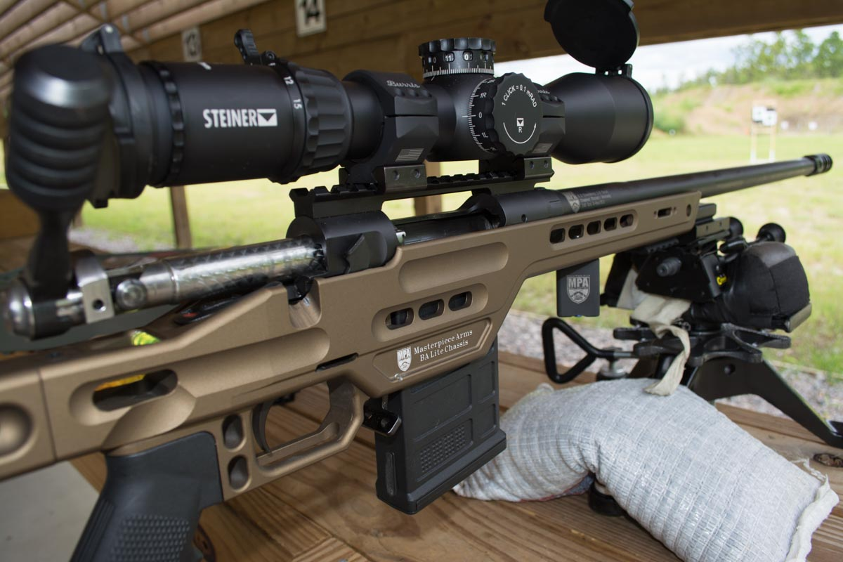 i tested the T5Xi on this Masterpiece Arms BA Lite chambered in 6.5mm Creedmoor.