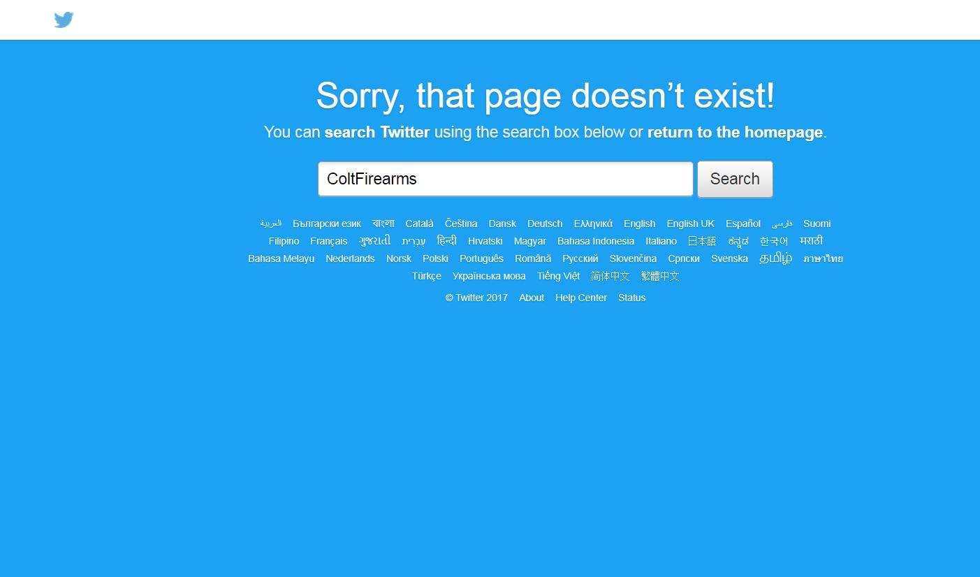 Colt's Twitter