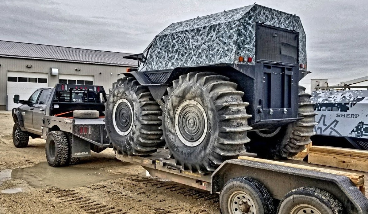 Sherp Atv For Sale >> Video: Could Russian SHERP ATVs Soon be Available for Purchase on U.S. Market? | OutdoorHub