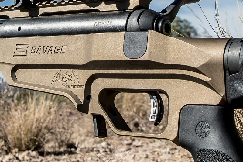 First Look: Savage 110 BA Stealth Evolution Long-Range Rifle