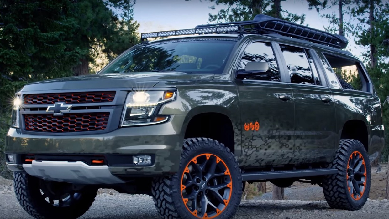 Video: Chevy Builds Outdoors-Inspired Suburban Concept to ...