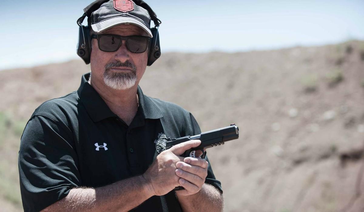 Handgun Video World Champion Shooter Rob Leatham Drops