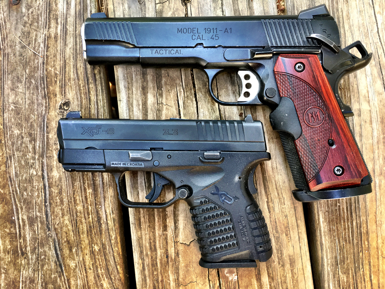 If you're willing to trade up to a larger physical size, you might be able to handle a larger caliber. To me, the 1911 .45 ACP and Springfield Armory XD-S 9mm don't feel all that different in terms of recoil.