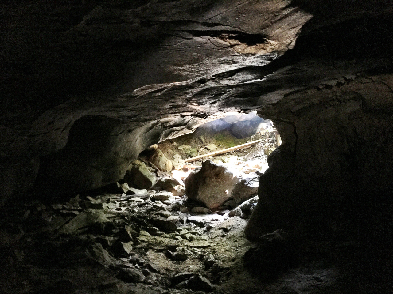 While there is something to be said for escaping back to daylight, the cave was a comfortable 54 degrees compared to 90s outside.