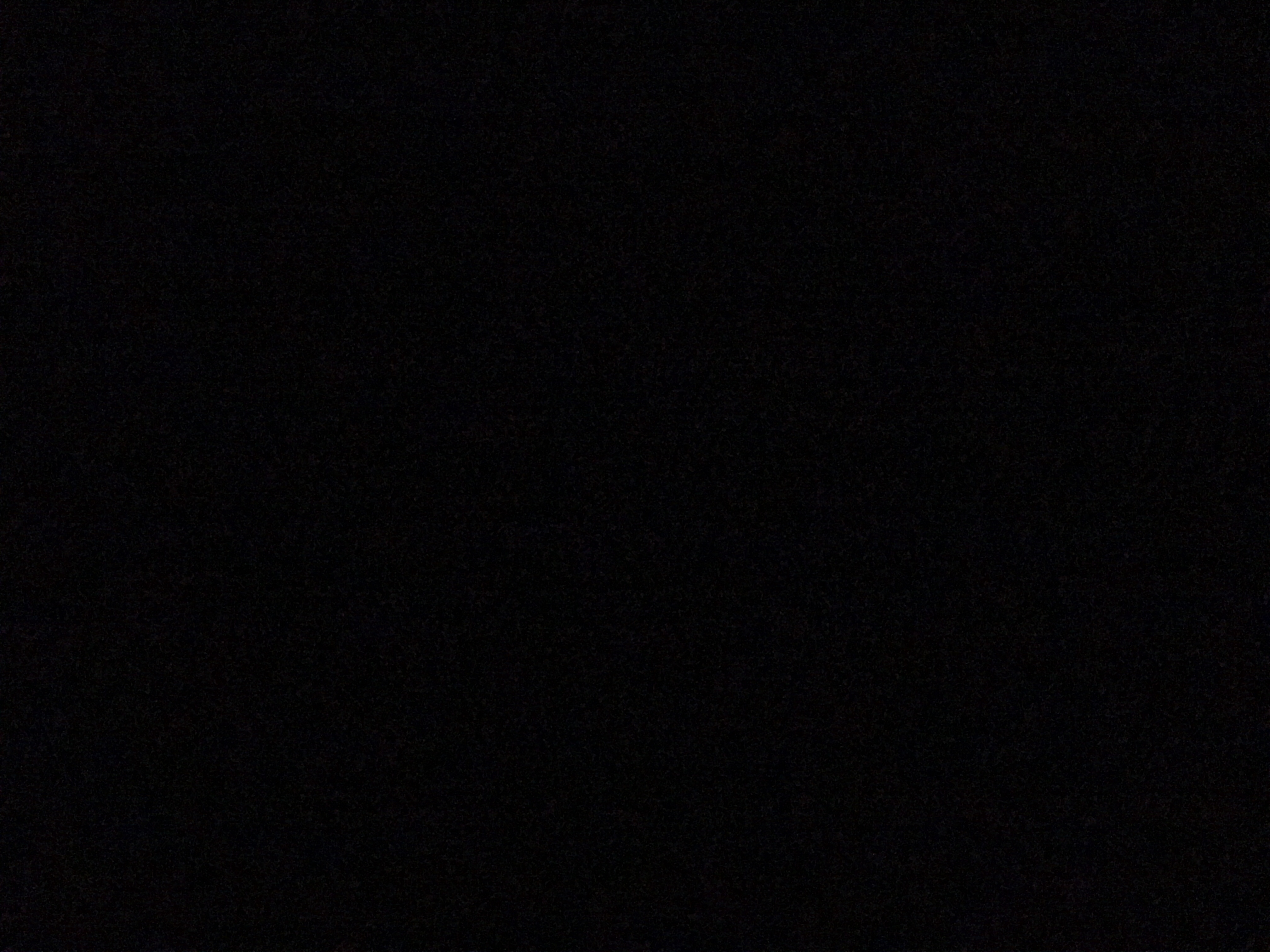 Here's an actual photo of the conditions sans lights. My camera wasn't happy, but I forced it to snap the picture anyway.