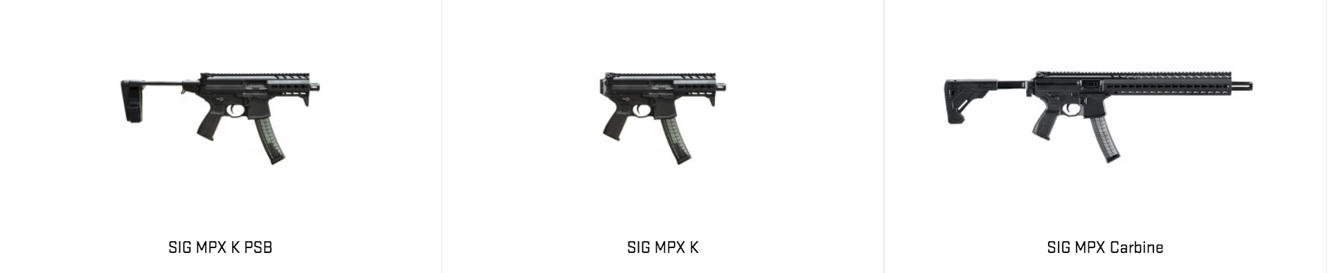 SIG Sauer MPX K PSB | OutdoorHub