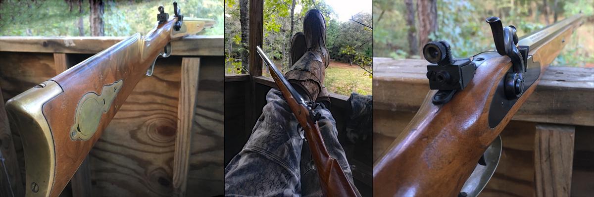 Thompson/Center Seneca muzzleloading rifle.