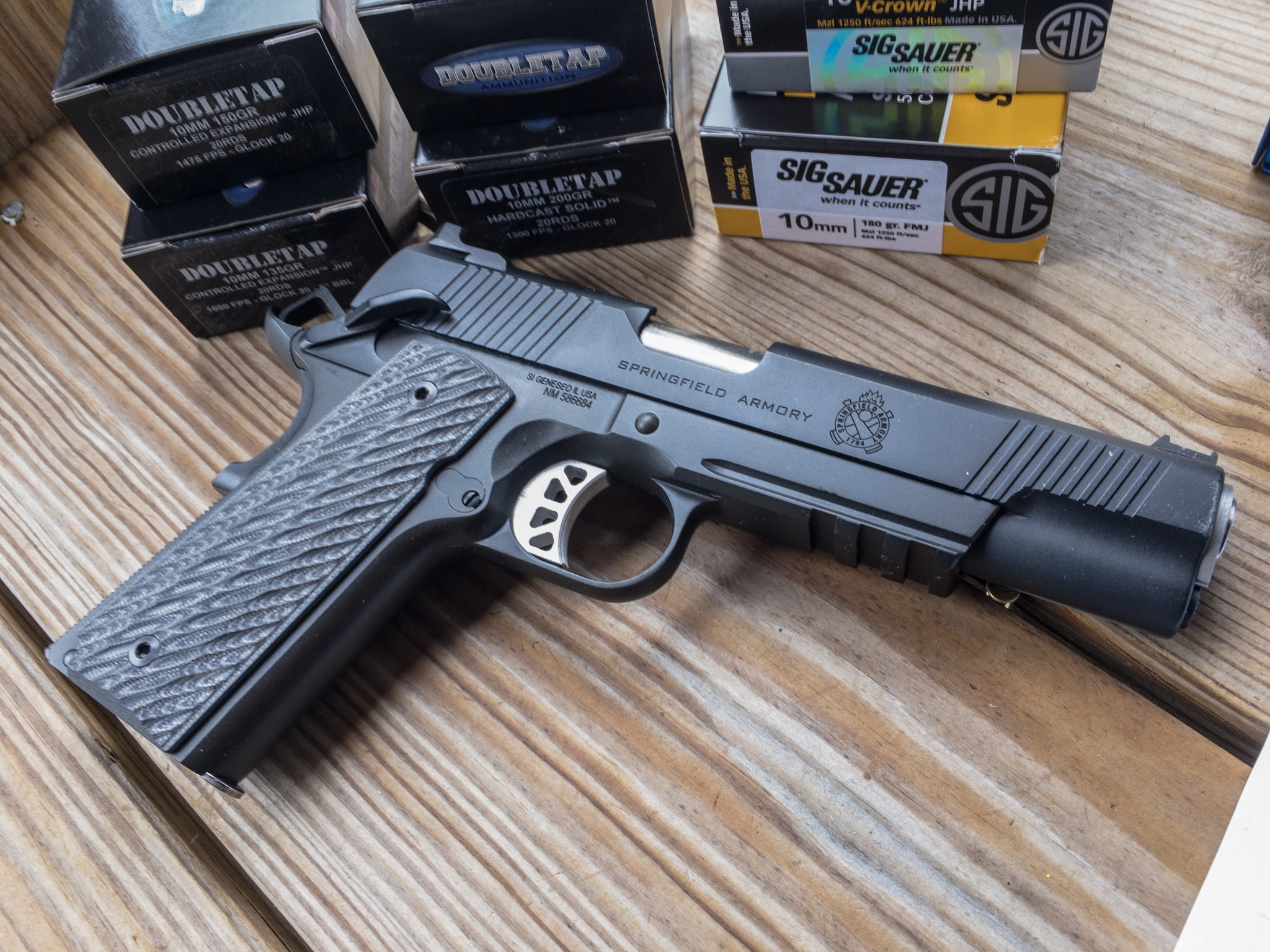 The new Springfield Armory 1911 Range Officer Elite Operator is decked out with all the quality gear, but is a 10mm.