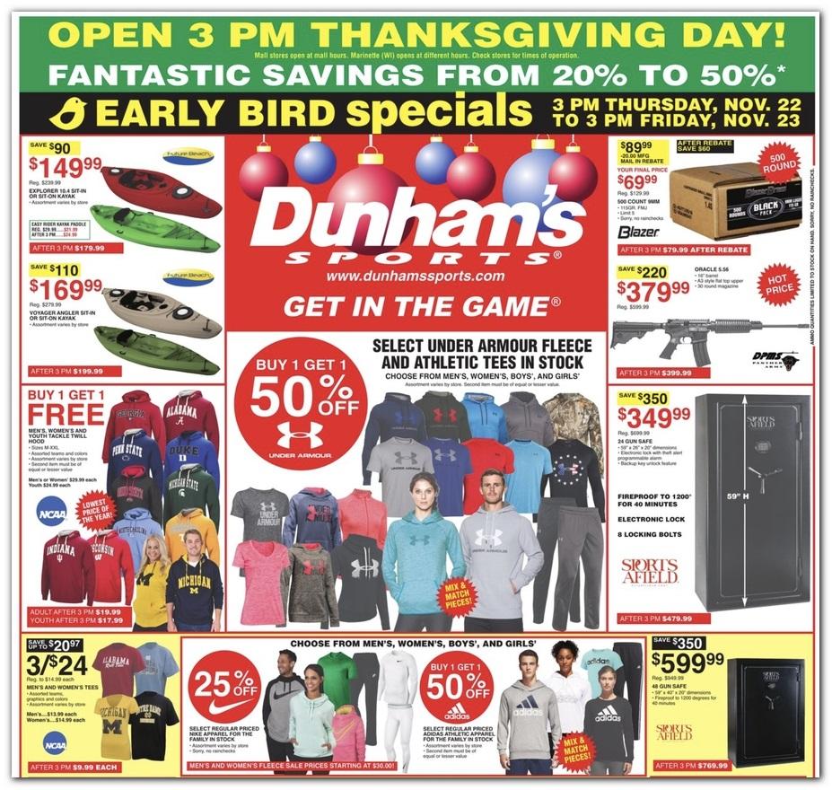 Dunhams Black Friday 1