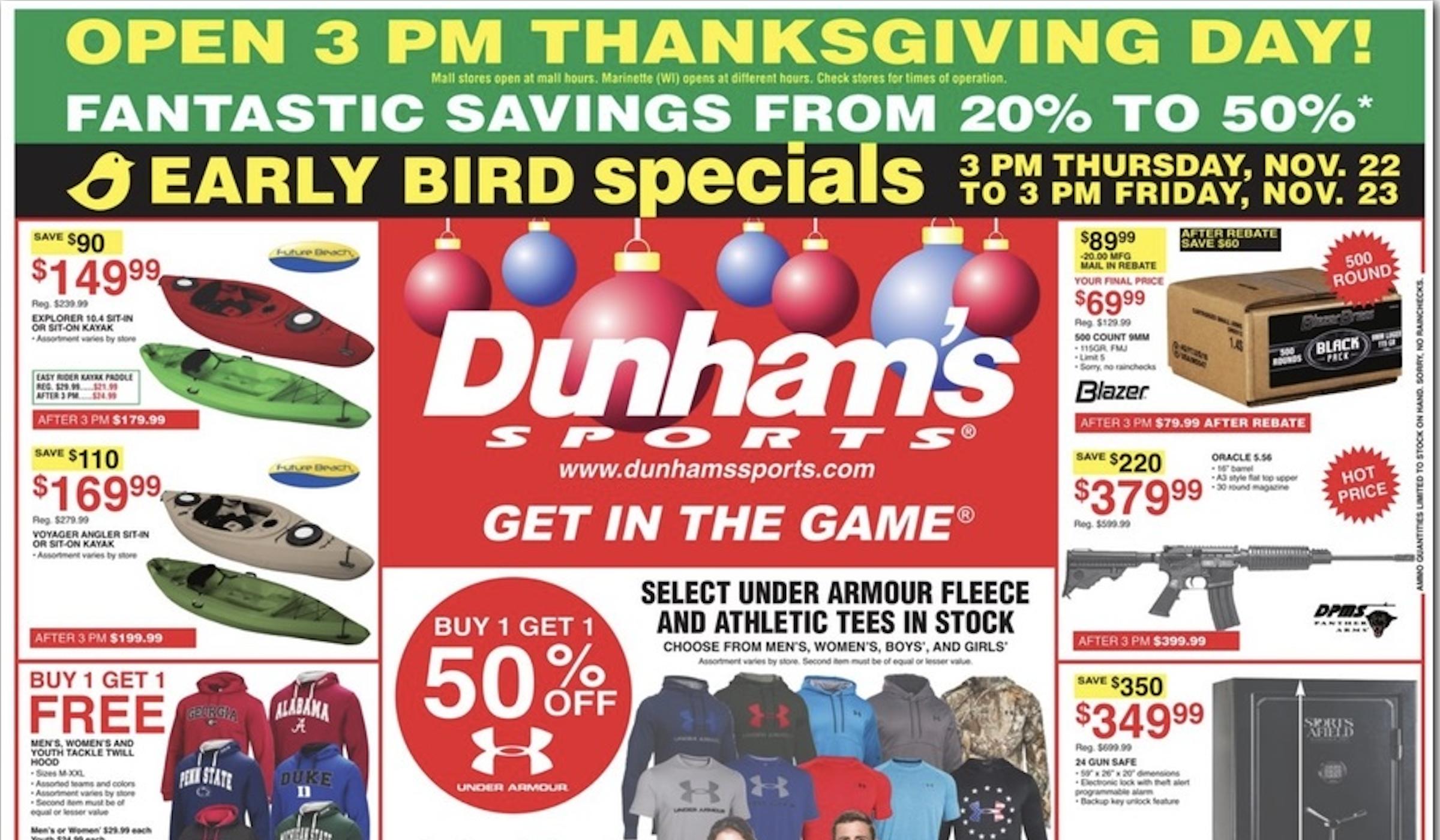 Black Friday Dunham S Sporting Goods Deals Outdoorhub