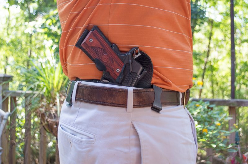 If you want to, you can even conceal a full-size gun. It's a matter of commitment over convenience. A wide variety of holster types, placements, and cant angles solve most concealment challenges.