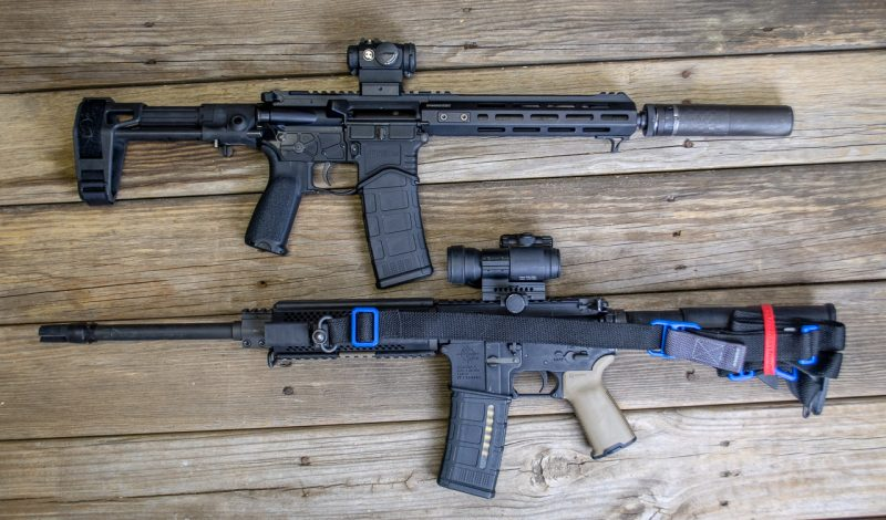 Even if you add a suppressor to an AR pistol, the whole package will still be more compact than a rifle without one. Consider it a free suppression benefit with no overall length penalty.