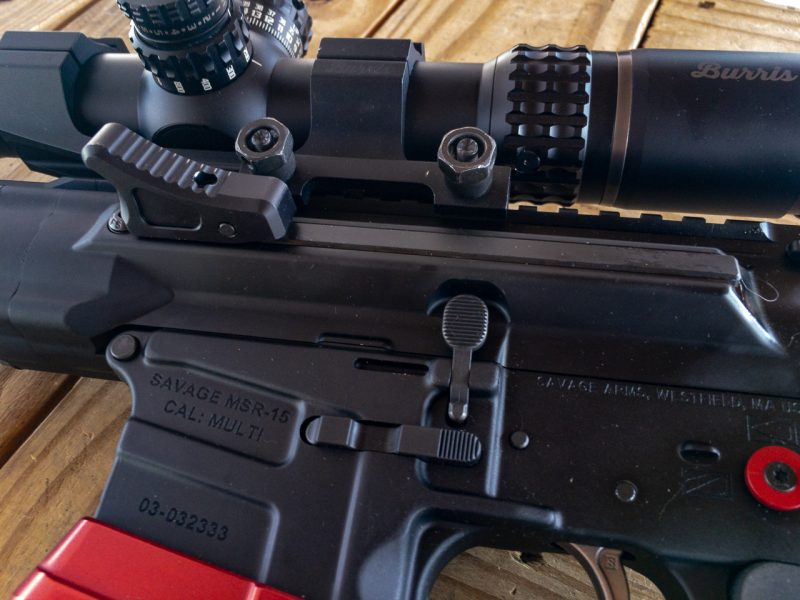 I really like the non-reciprocating side charging handle. It should be on every AR rifle...