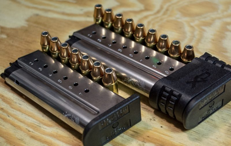With limited capacity compact pistols, an extra rounding the chamber is a welcome addition.