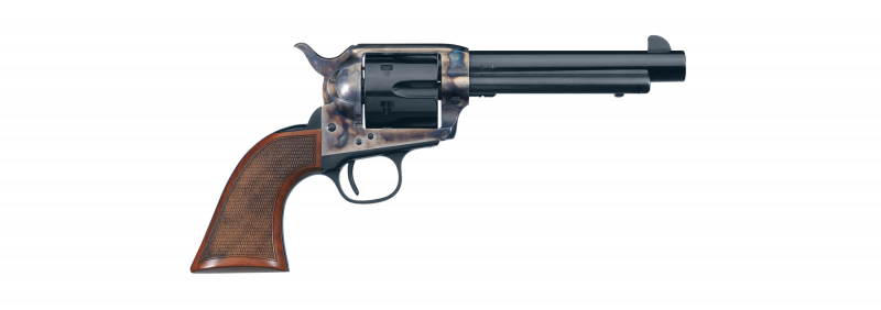 The Uberti 1873 Cattleman El Patron handles and shoots as good as it looks.