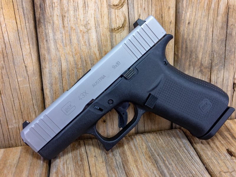 I think the Glock 43X is perfectly proportioned for concealed carry. It's big enough to get a full and proper grip but small enough to easily conceal.