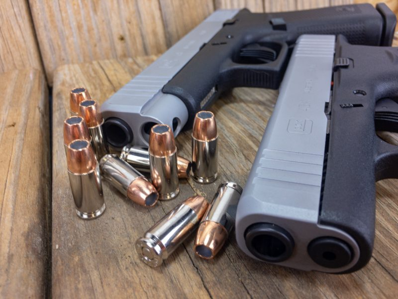 The only difference between the new Glock 43X and 48 is the length of the slide and barrel.