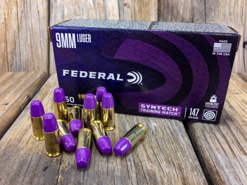 The new 147-grain Training Match load from Federal.