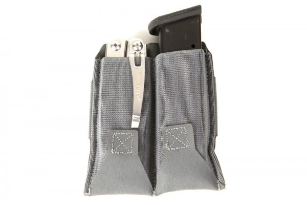 The Blue Force Gear Dual Magazine Pouch is great for two magazines, you can can carry anything in there.