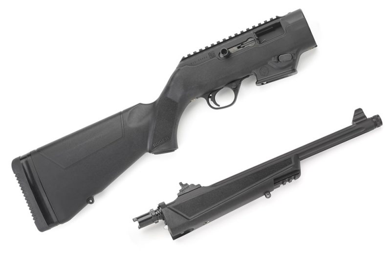 The Ruger PC Carbine breaks in half - on purpose!