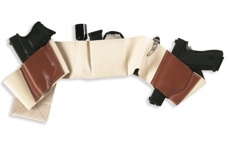 The Galco Underwraps Belly Band is reversible, so you get twice as many configuration options.
