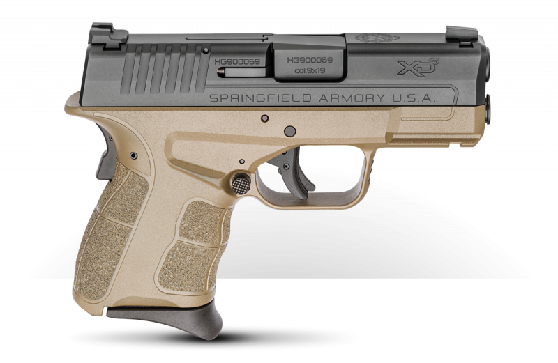 When I upgrade my original Springfield Armory XD-S 9mm, I might have to go with the Desert Flat Dark Earth XD-S Mod.2 9mm model.