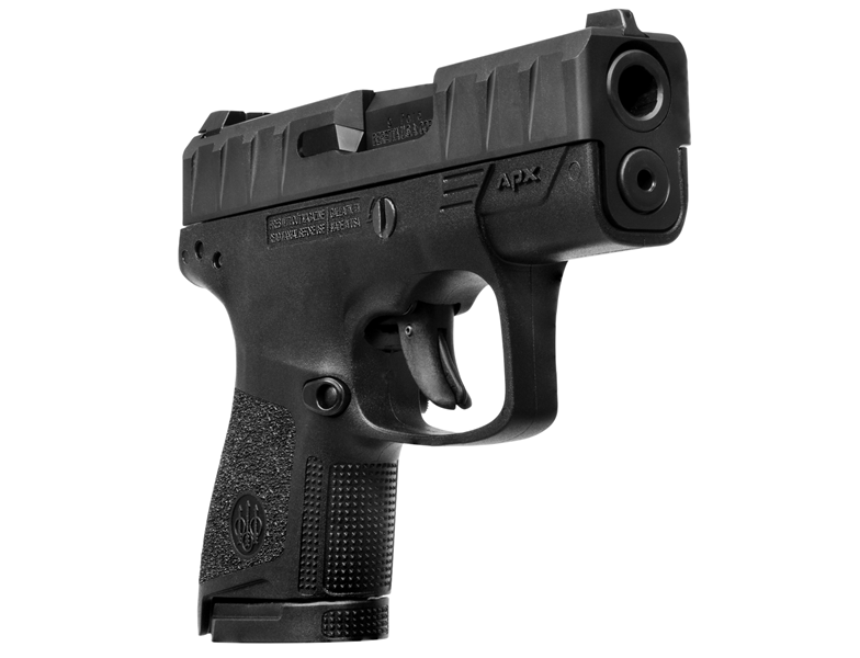 The Beretta APX Carry is almost exactly the same size as a snubbie revolver but offers easier shooting and more capacity.
