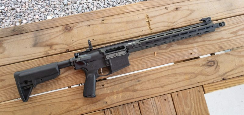 The Springfield Armory SAINT Victor .308 AR-10 is decked out with plenty of upgrades.