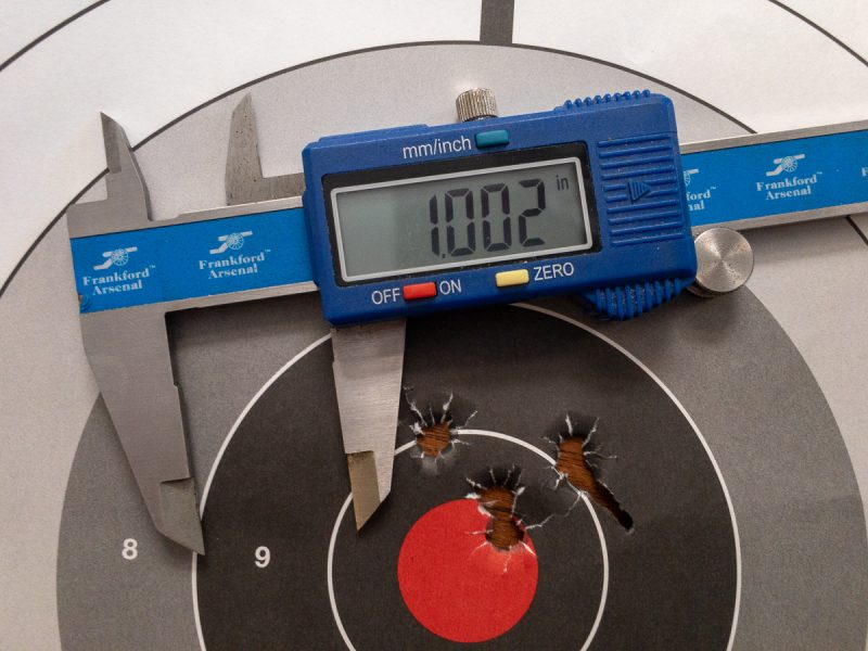 The Federal Gold Medal Match 168-grain produced the best overall groups.