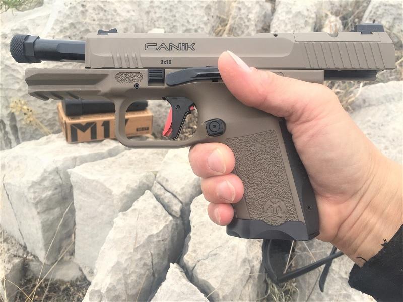 Want A Next-Gen Pistol? Meet the Canik TP9 Elite Combat