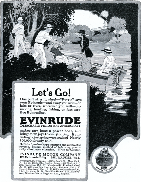 history of Evinrude 5