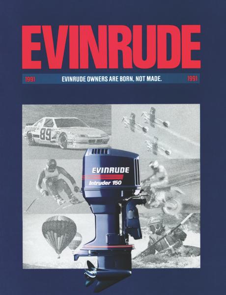 history of evinrude 15