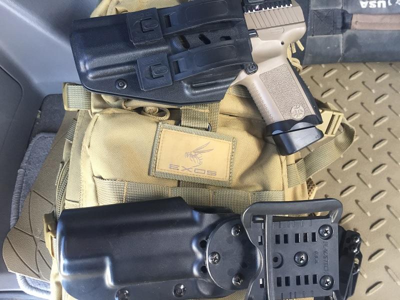 TP9 Elite Combat Frankenholster