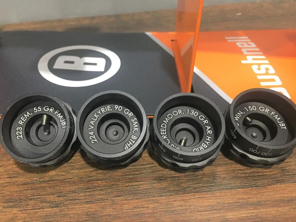 Bushnell Caliber Dials