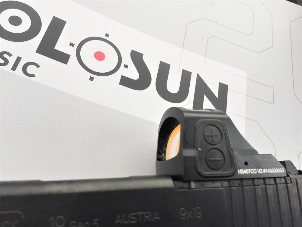 New Holosun Optics