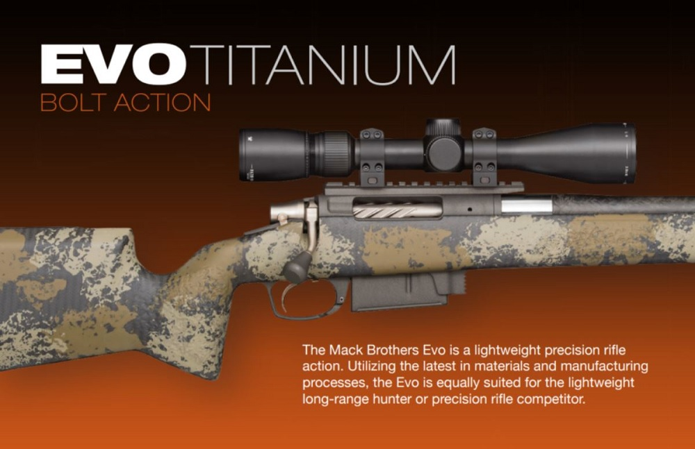 Evo Titanium Bolt Action