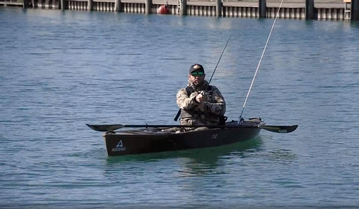 Ascend H12 Sit-In Hybrid Kayak